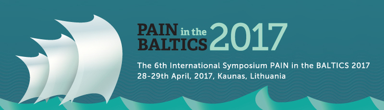 The 6th Symposium PAIN in the BALTICS - April 28-29, 2017