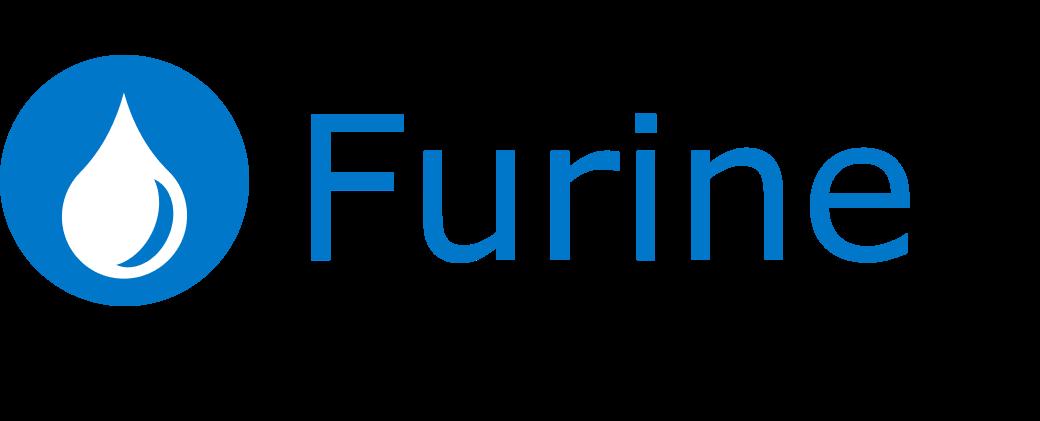 Furine logo blue